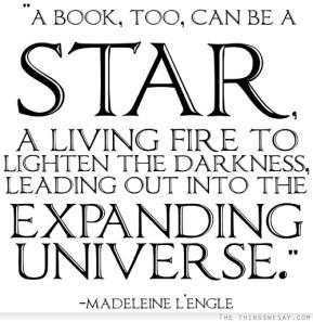 Books are stars