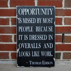 Work for opportunities