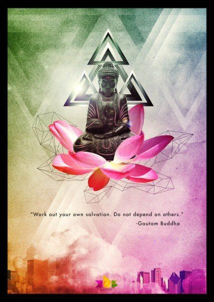 Buddha wisdom-Barra tu propia puerta