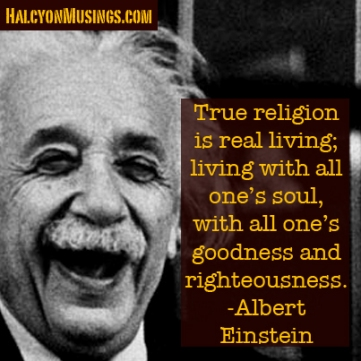 Einstein on Religion