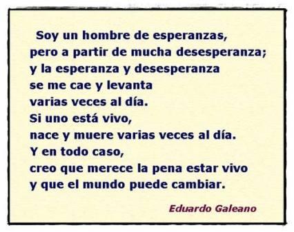 Galeano-El mundo puede cambiar