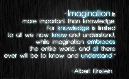 imagination-Einstein