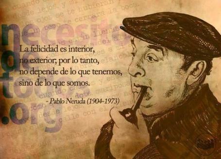 la felicidad-Neruda