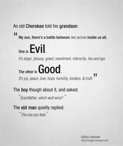 Old Cherokke Wisdom
