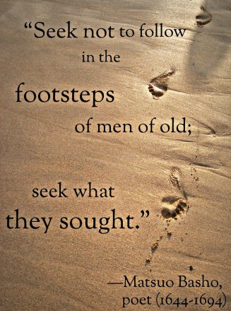Seek what they sought
