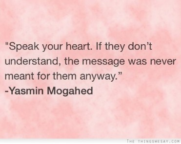 Speak your Heart