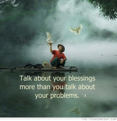 Talk of Blessings